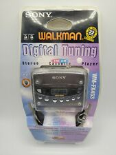 Vintage SONY WM-FX453 Digital Tuning AM/FM Cassette Walkman Factory Sealed