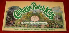 Vintage 1984 Cabbage Patch Kids Friends to the Rescue Board Game