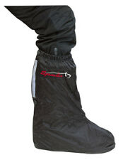 SPADA WATERPROOF MOTORCYCLE MOTORBIKE OVER BOOTS OVERBOOTS WITH RUBBER HALF SOLE