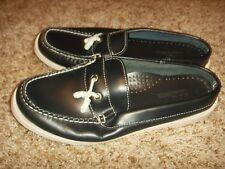 LL Bean Mule Boat Shoes Womens Size 7W