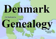 Denmark Genealogy Parish Records Family Tree 24 Books Ancestry on CD DVD