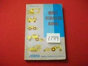 SPERRY RAND / VICKERS MOBILE HYDRAULICS MANUAL HEAVY EQUIPMENT/FARM 1ST ED. HTF