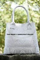 Indian Handmade Mandala Tote Bag Shoulder Boho Ethnic HandBag Women's Handbags