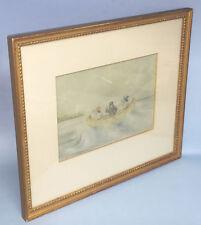 J.V.M - 19TH CENTURY CANADIAN ARTIST - ORIGINAL PASTELS - FRAMED