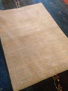 Modern Spectacular wool Modern Area Rug 8' X 10' Hand Woven texture design wool