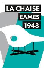 Stampa incorniciata-Charles Eames LA CHAISE CHAIR POSTER 1948 (foto Knoll Bertoia)