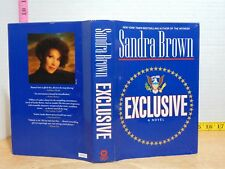 Exclusive by Sandra Brown (1996, Hardcover) BCE