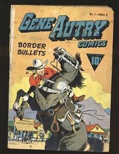 Gene Autry Comics # 7 (Fawcett) Fair Cond. spine splitting
