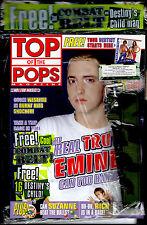 TOP OF THE POPS 2001 EMINEM WESTLIFE STEPS DESTINY'S CHILD FIVE SUZANNE SHAW