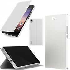 ORIGINALE Huawei Ascend p7 FLIP CASE ORIGINALE Cellulare Smart Book Cover Cellulare