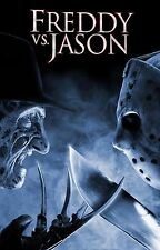 FREDDY VS JASON Movie Poster Horror Nightmare on Elm Street Friday the 13th