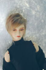 Mocha Color Fur Wig for BJD 1/6 YOSD,1/4 MSD,1/3 SD17 Uncle Doll Wig  HH111