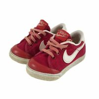 Vintage 1982 Nike Court Baby Toddler Shoes Red Size 3 820305PYI Rare