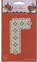 Marianne/Stencil/La Fleur/Floral/Flower/Corner/emboss/Stitch/Embroider/EE3431