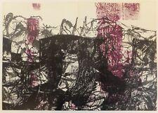 Jean-Paul Riopelle composition Derrière le Miroir 1968 Lithographie originale