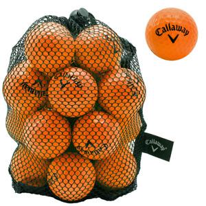 Callaway HX Practice Soft-Flite Golf Balls Training Aid 30% Flight Orange 9 Pack