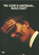 """PAOLO CONTE """"NEL CUORE DI AMSTERDAM"""" RARO DVD 1996 - FUORI CATALOGO"""