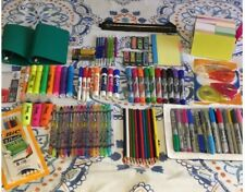 School Office Craft Supplies Bundle Markers Pencils Sharpies