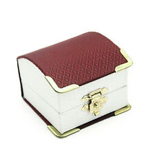Luxury Cuff Link Ring Gift Box Jewelry Treasure Chest Cases - High Quality Only!