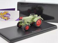 "Schuco PRO.R 08964 # Borgward Traktor Baujahr 1953 "" resedagrün "" 1:43 TOPPREIS"