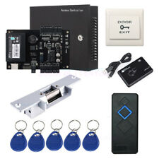 ZKaccess C3 100 Access Control Systems Kit Strike NO Lock 220V Power RFID Reader