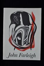 JOHN FARLEIGH WOOD ENGRAVINGS EXHIBITION CATALOGUE ASHMOLEAN MUSEUM 1986