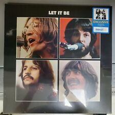 The Beatles Sealed Lp Record LET IT BE Apple 2021 Walmart Exclusive prints