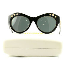 f05f30482e2f5 Versace Sunglasses VE4320 GB1 Black Gray Woman Ascetate 54 20 140