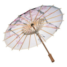 Chinese Oil Paper Umbrella Parasol Wedding Dance Ceiling Decor Photo Prop Pink
