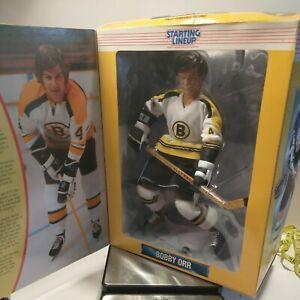 "Starting Lineup 1997 Bobby Orr Figure Hasbro 12"" Boston Bruins NHL Hockey"