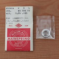 New Longines Newall Swiss Cal 12L Watch Mainspring Part Watchmakers (G6D15)