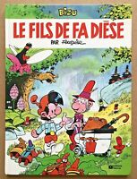 BD BIZU 3 LE FILS de FA DIÈSE - EO 1986  / Fournier Univers Spirou TBE