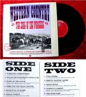 LP Sons of the Pioneers: Western Country (1977)