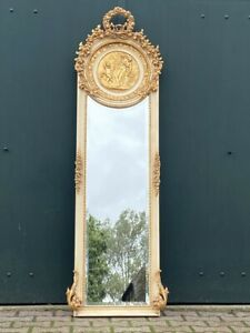 Mirror in French Louis XVI Style- Free Worldwide Shipping