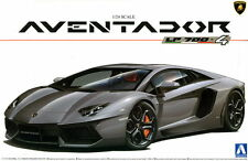 Aoshima Model kit 1/24 Lamborghini Aventador LP700-4 with Full Engine Details