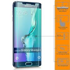 Displayschutz Glas für Samsung Galaxy S6 Edge+ Plus Folie Schutzpanzer Glasfolie