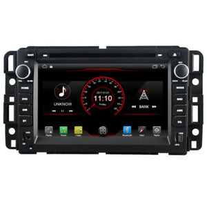 "7"" Android 10 Car DVD GPS Stereo Radio Navi For GMC Yukon Sierra Chevrolet Tahoe"