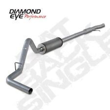 "Diamond Eye K3116S 3"" Stainless Single Exhaust For 09-13 GM 1500  4.8L & 5.3L"