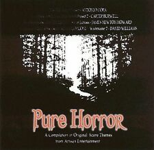 Pure Horror: A Compilation of Original Score Themes by Various Artists (CD,...
