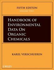 NEW Handbook of Environmental Data on Organic Chemicals, Four Volume Set, Print