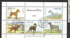EIRE 1983 Irish chiens Mme Fu SG MS563