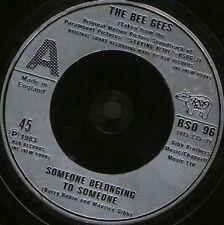 """Bee GEES qualcuno appartenenti a someonei amo troppo RSO 96 UK 7"""" WS EX/"""