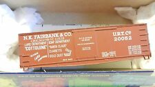 Roundhouse MDC HO Old Time 36' Fishbelly Billboard Boxcar N.K. Fairbanks Kit