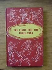1957 el Sportsmans club del libro: la lucha por las cenizas 1956, una cuenta completa