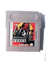 Mercenary Force ORIGINAL NINTENDO GAMEBOY GAME Tested + Working & Authentic! VG!