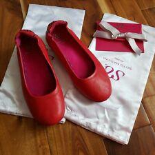 Soto Massini milano Red 8-9 ballet flats
