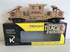 2004 K-Line # K635-8018 Operation Iraqi Freedom Security Rail Car, 0/027-NIB