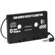 DIGIFLEX Black Cassette Tape Adapter 3.5mm Jack for MP3 iPod iPhone Stereo