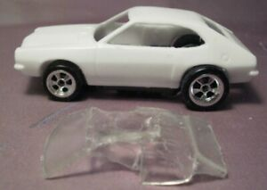 Resin HO SLOT CAR scale Ford Pinto t-jet mounts
