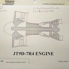 Pratt & Whitney JT9D-7R4 Technical Training Manual